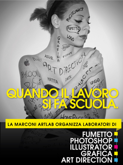 Laboratori di Photoshop, Illustrator, Art Direction e Fumetto