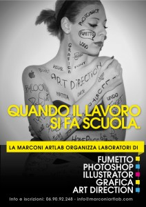 corso di grafica e art direction Marconi Artlab