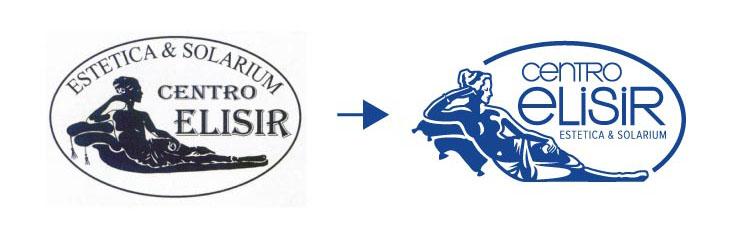 restyling logo Elisir
