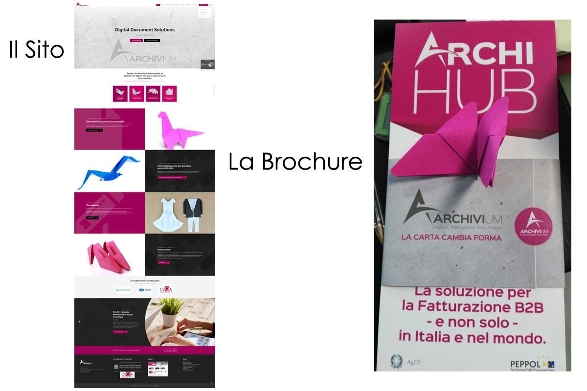 sito e brochure