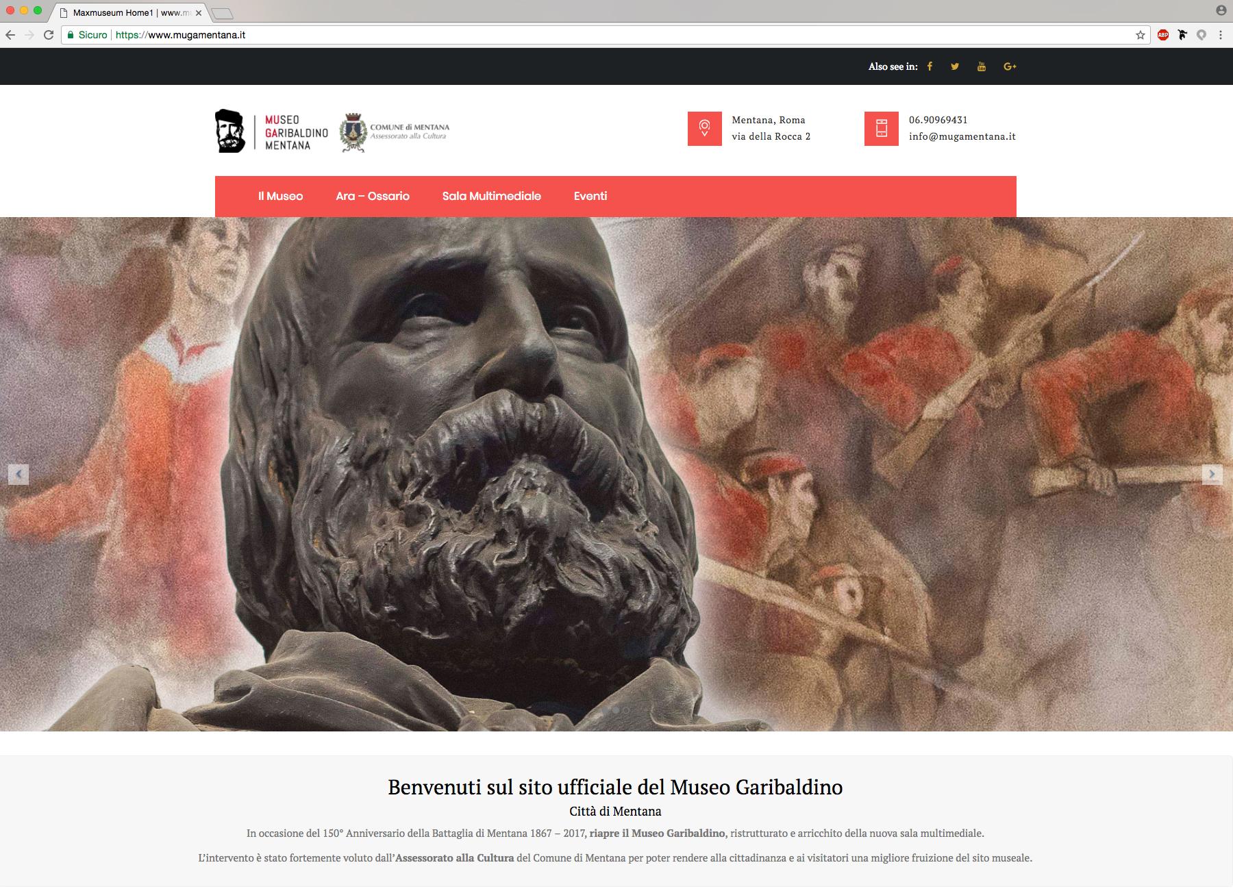 home page museo garibaldino